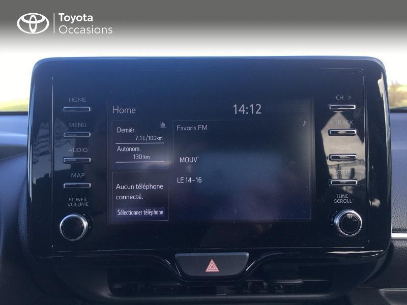 Photo 15 de l'offre de TOYOTA Yaris 70 VVT-i Design 5p à 19250€ chez Altis - Toyota Vannes