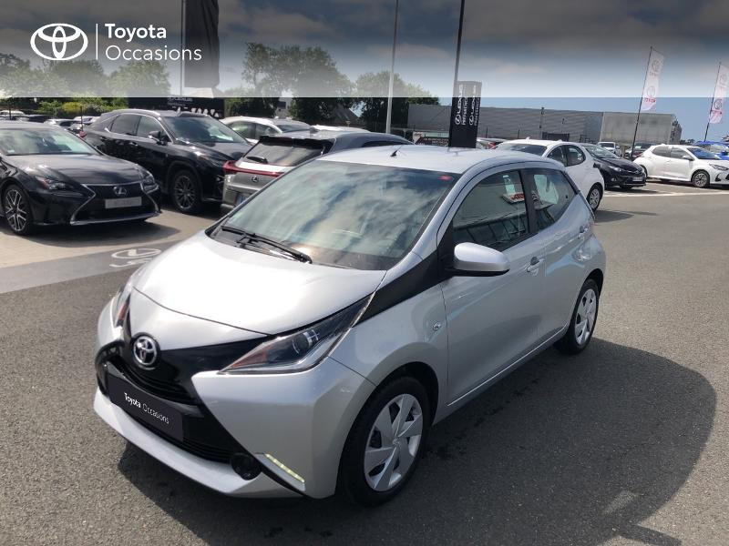 Toyota Aygo 1.0 VVT-i 72ch x-play x-shift 5p Essence Gris Titane Occasion à vendre