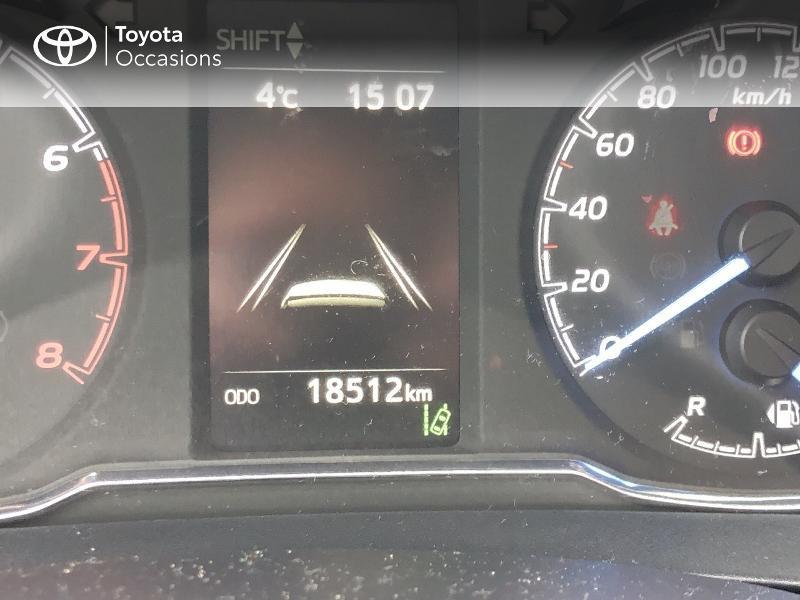Photo 14 de l'offre de TOYOTA Yaris 70 VVT-i Design Y20 5p MY19 à 12980€ chez Altis - Toyota Vannes