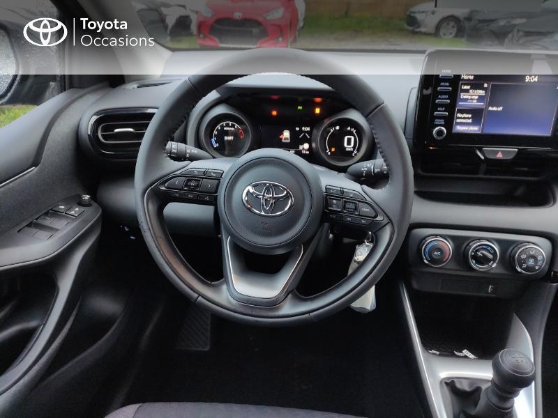 Photo 9 de l'offre de TOYOTA Yaris 120 VVT-i Design 5p à 17990€ chez Altis - Toyota Vannes