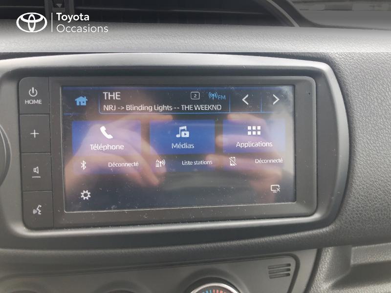 Photo 15 de l'offre de TOYOTA Yaris 70 VVT-i Design Y20 5p MY19 à 12980€ chez Altis - Toyota Vannes