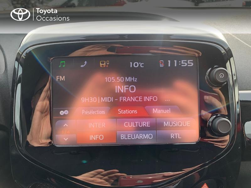 Photo 15 de l'offre de TOYOTA Aygo 1.0 VVT-i 69ch x-cite 4 5p à 9880€ chez Altis - Toyota Vannes