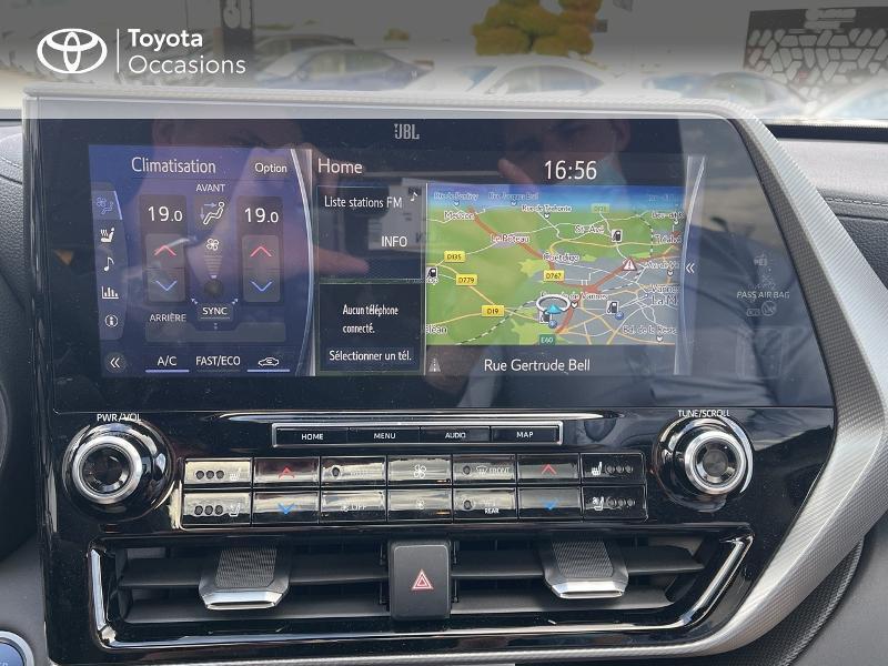 Photo 15 de l'offre de TOYOTA Highlander Hybrid 248ch Lounge AWD-I à 57980€ chez Altis - Toyota Vannes