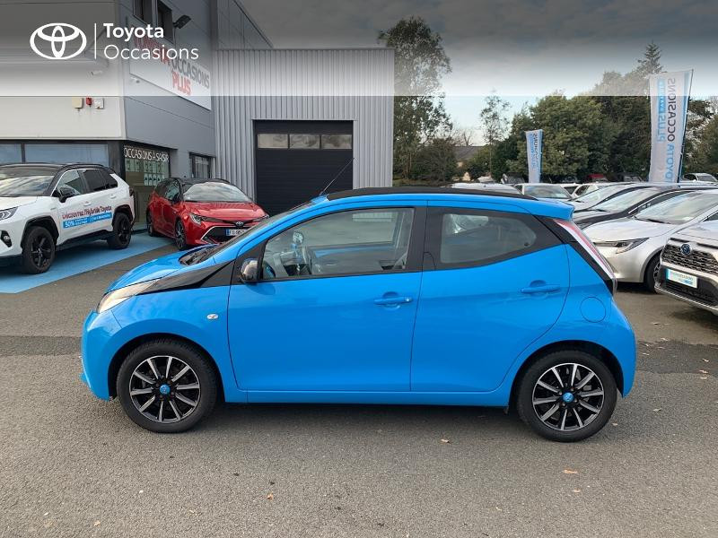 Photo 26 de l'offre de TOYOTA Aygo 1.0 VVT-i 69ch x-wave 2 5p à 9290€ chez Altis - Toyota Vannes