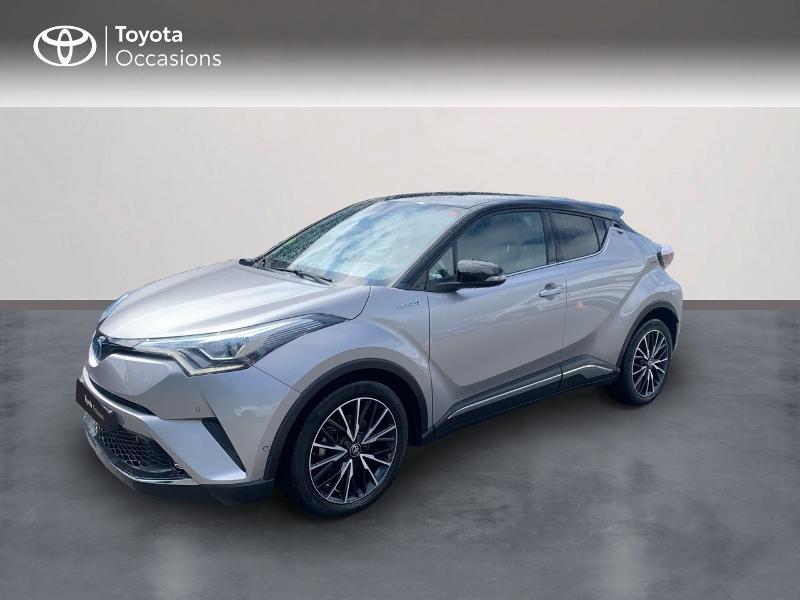 Toyota C-HR 122h Collection 2WD E-CVT RC18 Hybride BI-TON GRIS PLATINIUM Occasion à vendre