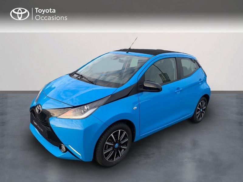 Photo 1 de l'offre de TOYOTA Aygo 1.0 VVT-i 69ch x-wave 2 5p à 9290€ chez Altis - Toyota Vannes