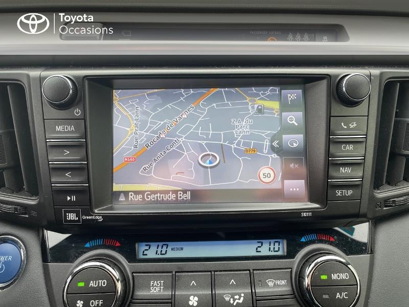 Photo 15 de l'offre de TOYOTA RAV4 197 Hybride Collection 2WD CVT à 27880€ chez Altis - Toyota Vannes