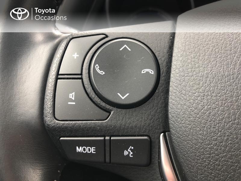Photo 20 de l'offre de TOYOTA Auris HSD 136h Design RC18 à 18990€ chez Altis - Toyota Vannes