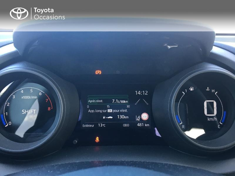 Photo 14 de l'offre de TOYOTA Yaris 70 VVT-i Design 5p à 19250€ chez Altis - Toyota Vannes