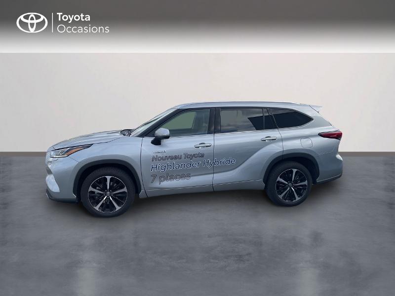 Photo 3 de l'offre de TOYOTA Highlander Hybrid 248ch Lounge AWD-I à 57980€ chez Altis - Toyota Vannes