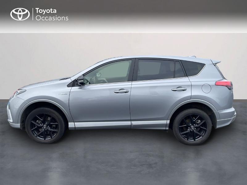 Photo 3 de l'offre de TOYOTA RAV4 197 Hybride Collection 2WD CVT à 27880€ chez Altis - Toyota Vannes