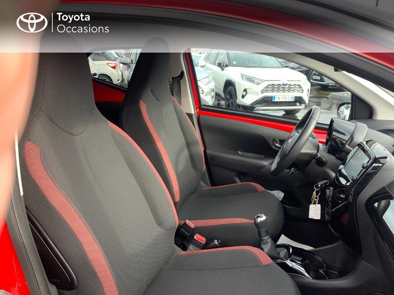 Photo 6 de l'offre de TOYOTA Aygo 1.0 VVT-i 69ch x-cite 4 5p à 9880€ chez Altis - Toyota Vannes