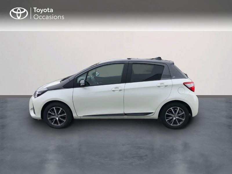 Photo 3 de l'offre de TOYOTA Yaris 70 VVT-i Design Y20 5p MY19 à 12980€ chez Altis - Toyota Vannes