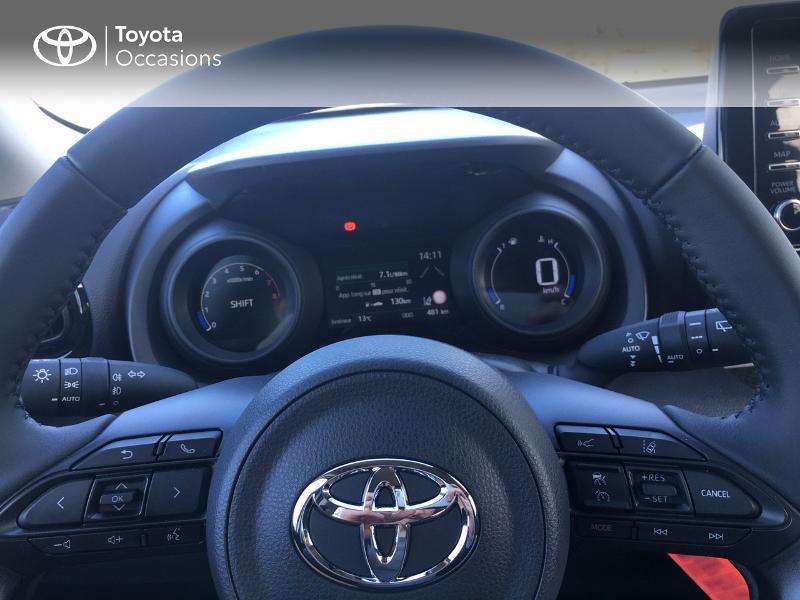 Photo 13 de l'offre de TOYOTA Yaris 70 VVT-i Design 5p à 19250€ chez Altis - Toyota Vannes