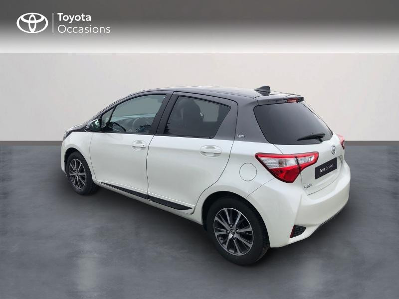 Photo 2 de l'offre de TOYOTA Yaris 70 VVT-i Design Y20 5p MY19 à 12980€ chez Altis - Toyota Vannes