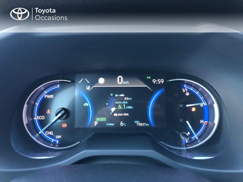 Photo 14 de l'offre de TOYOTA RAV4 Hybride 218ch Dynamic 2WD à 31980€ chez Altis - Toyota Vannes