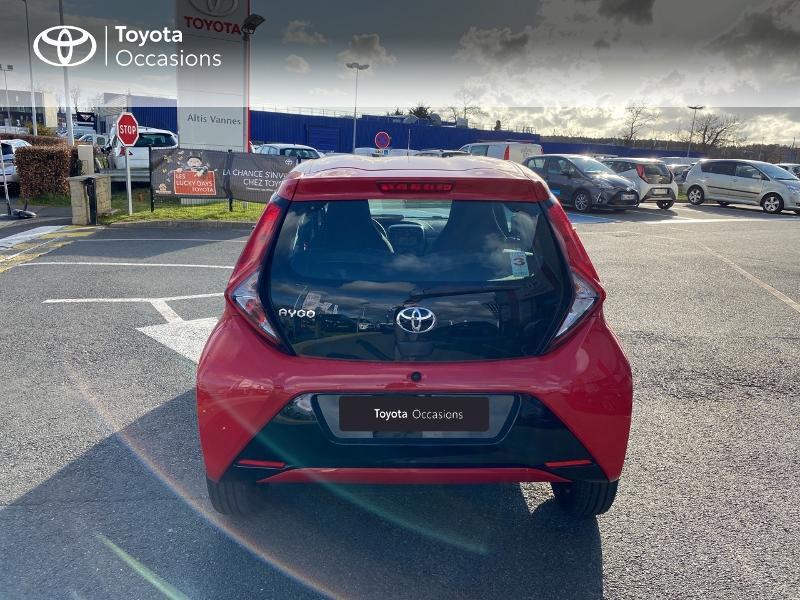 Photo 20 de l'offre de TOYOTA Aygo 1.0 VVT-i 72ch x-play 5p MY20 à 11590€ chez Altis - Toyota Vannes