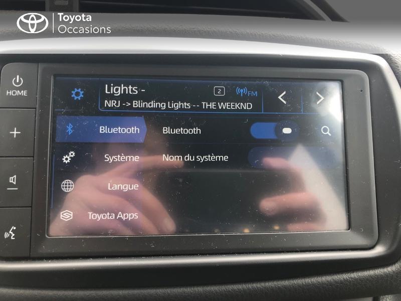 Photo 24 de l'offre de TOYOTA Yaris 70 VVT-i Design Y20 5p MY19 à 12980€ chez Altis - Toyota Vannes