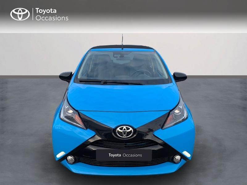 Photo 5 de l'offre de TOYOTA Aygo 1.0 VVT-i 69ch x-wave 2 5p à 9290€ chez Altis - Toyota Vannes