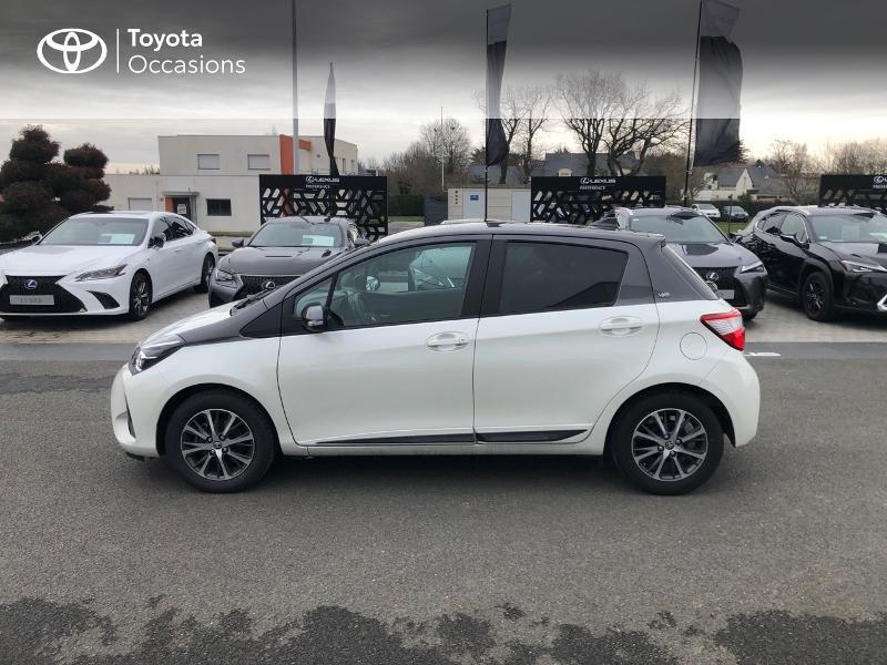 Photo 27 de l'offre de TOYOTA Yaris 70 VVT-i Design Y20 5p MY19 à 12980€ chez Altis - Toyota Vannes