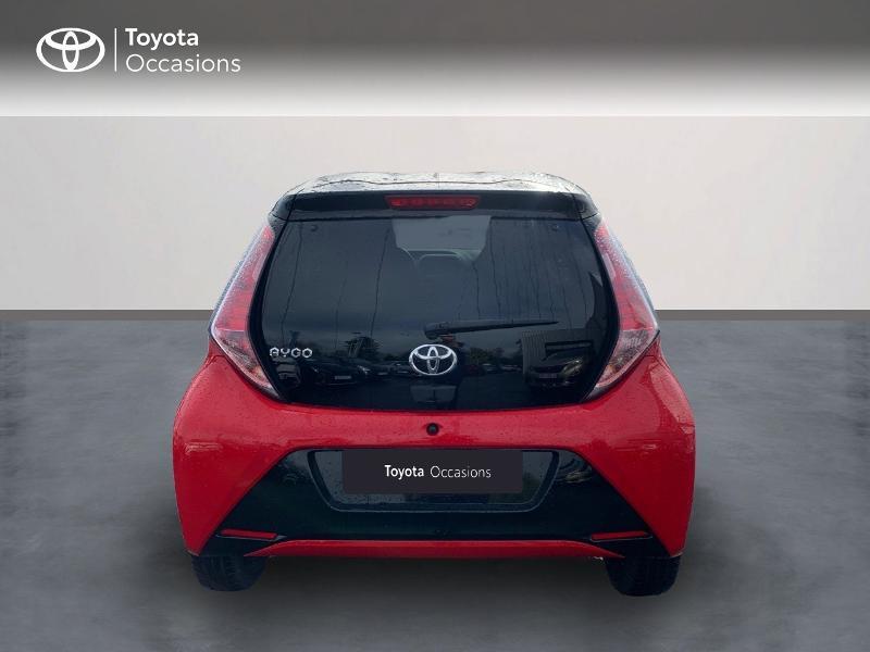 Photo 4 de l'offre de TOYOTA Aygo 1.0 VVT-i 69ch x-cite 4 5p à 9880€ chez Altis - Toyota Vannes