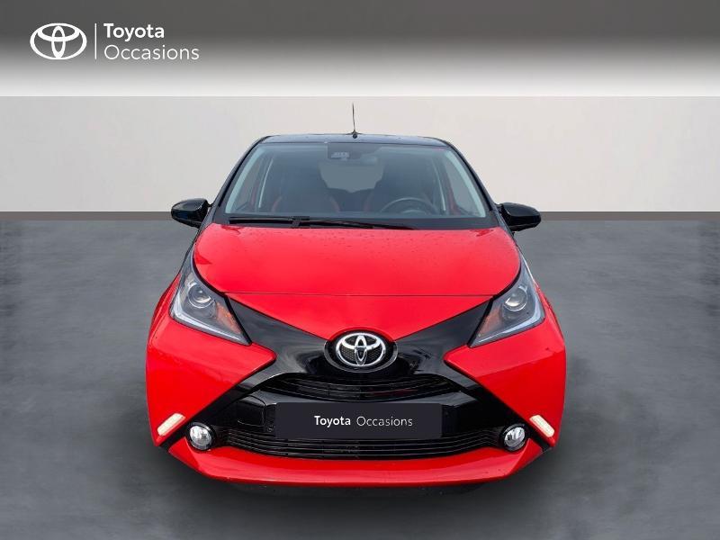 Photo 5 de l'offre de TOYOTA Aygo 1.0 VVT-i 69ch x-cite 4 5p à 9880€ chez Altis - Toyota Vannes