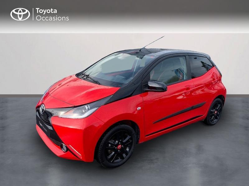 Photo 1 de l'offre de TOYOTA Aygo 1.0 VVT-i 69ch x-cite 4 5p à 9880€ chez Altis - Toyota Vannes