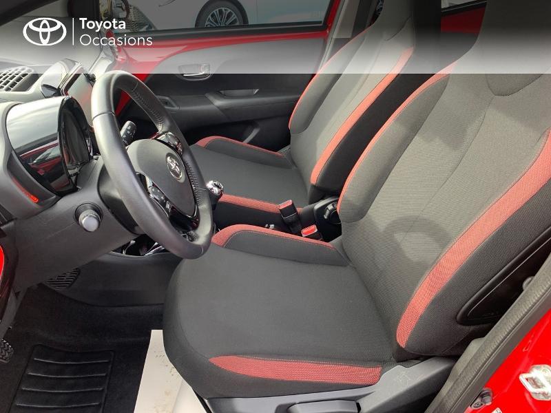 Photo 11 de l'offre de TOYOTA Aygo 1.0 VVT-i 69ch x-cite 4 5p à 9880€ chez Altis - Toyota Vannes