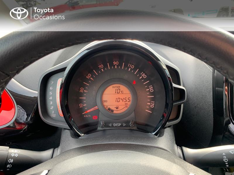 Photo 14 de l'offre de TOYOTA Aygo 1.0 VVT-i 69ch x-cite 4 5p à 9880€ chez Altis - Toyota Vannes
