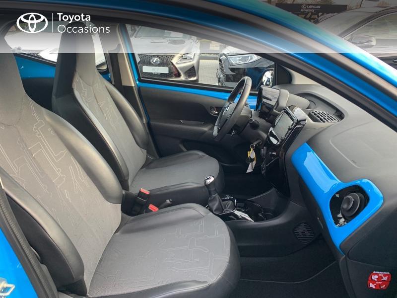 Photo 6 de l'offre de TOYOTA Aygo 1.0 VVT-i 69ch x-wave 2 5p à 9290€ chez Altis - Toyota Vannes