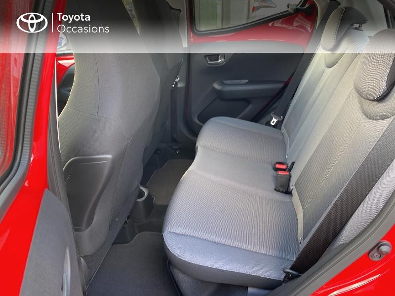 Photo 12 de l'offre de TOYOTA Aygo 1.0 VVT-i 72ch x-play 5p MY20 à 11590€ chez Altis - Toyota Vannes