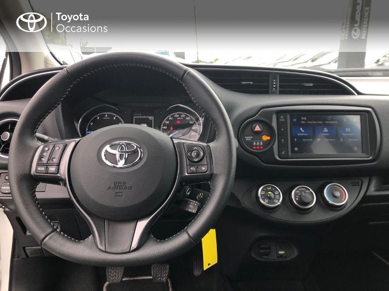 Photo 8 de l'offre de TOYOTA Yaris 70 VVT-i Design Y20 5p MY19 à 12980€ chez Altis - Toyota Vannes