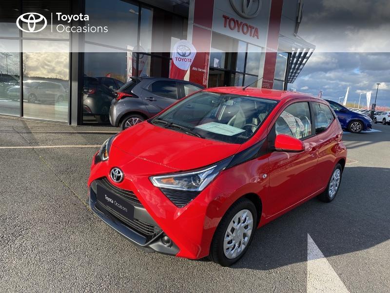 Photo 17 de l'offre de TOYOTA Aygo 1.0 VVT-i 72ch x-play 5p MY20 à 11590€ chez Altis - Toyota Vannes