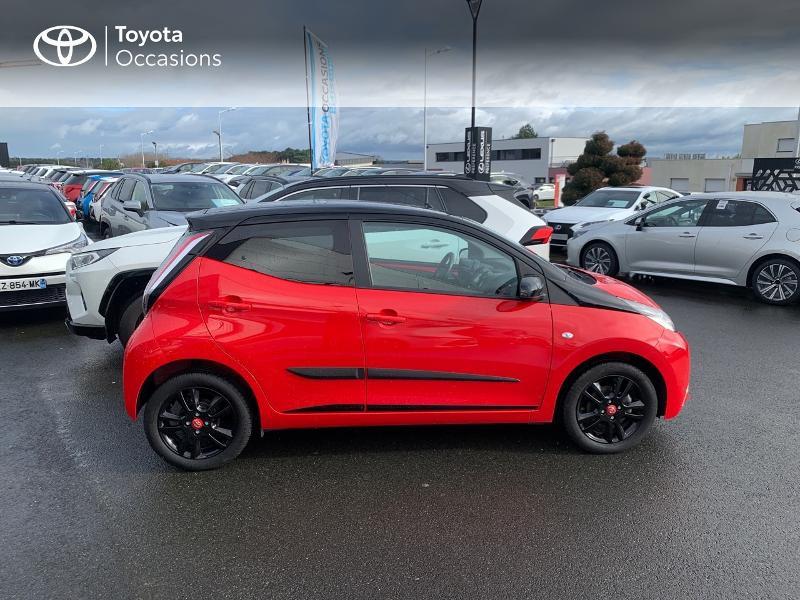 Photo 17 de l'offre de TOYOTA Aygo 1.0 VVT-i 69ch x-cite 4 5p à 9880€ chez Altis - Toyota Vannes