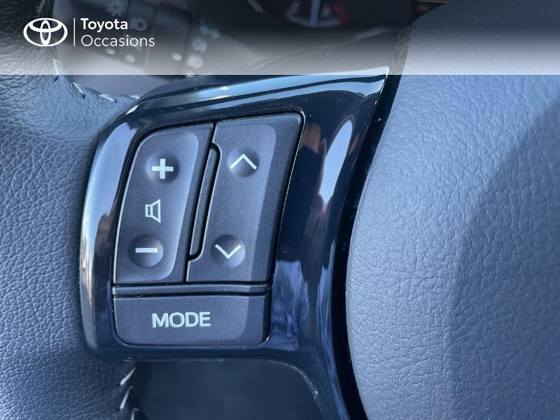 Photo 20 de l'offre de TOYOTA Yaris 100h Dynamic 5p RC18 à 15690€ chez Altis - Toyota Vannes