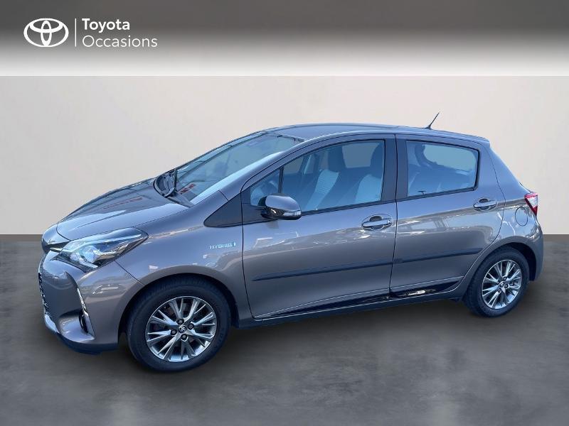Toyota Yaris 100h Dynamic 5p RC18 Hybride GRIS DUNE Occasion à vendre