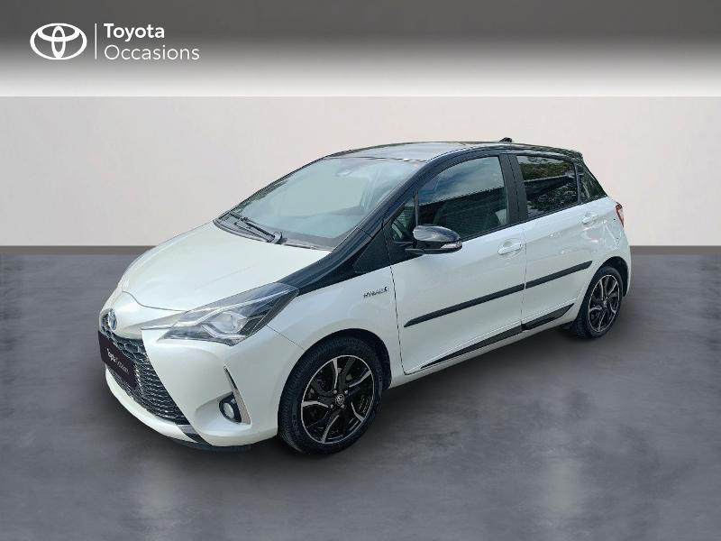 Toyota Yaris 100h Collection 5p Hybride BI-TON BLANC NACRE Occasion à vendre