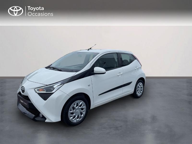Toyota Aygo 1.0 VVT-i 72ch x-play 5p Essence blanc Occasion à vendre