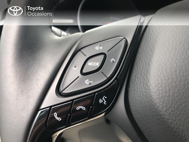 Photo 7 de l'offre de TOYOTA C-HR 122h Dynamic 2WD E-CVT RC18 à 19490€ chez Altis - Toyota Vannes
