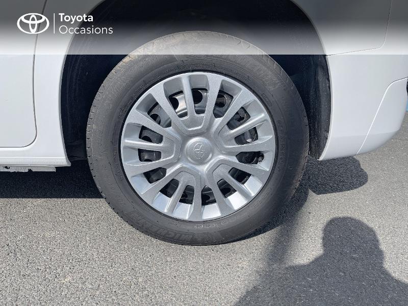 Photo 16 de l'offre de TOYOTA PROACE CITY Verso Medium 1.2 110 VVT-i Dynamic RC21 à 22900€ chez Altis - Toyota Vannes