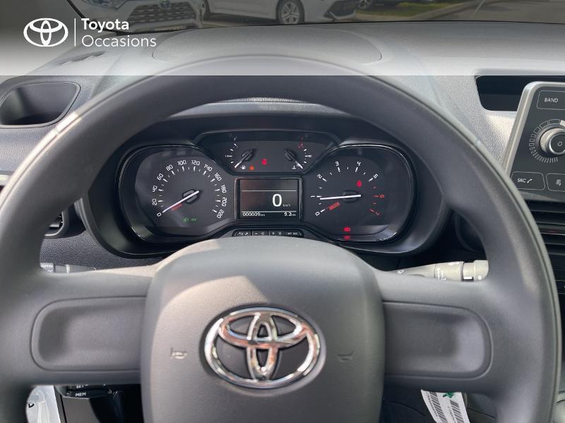Photo 13 de l'offre de TOYOTA PROACE CITY Verso Medium 1.2 110 VVT-i Dynamic RC21 à 22900€ chez Altis - Toyota Vannes