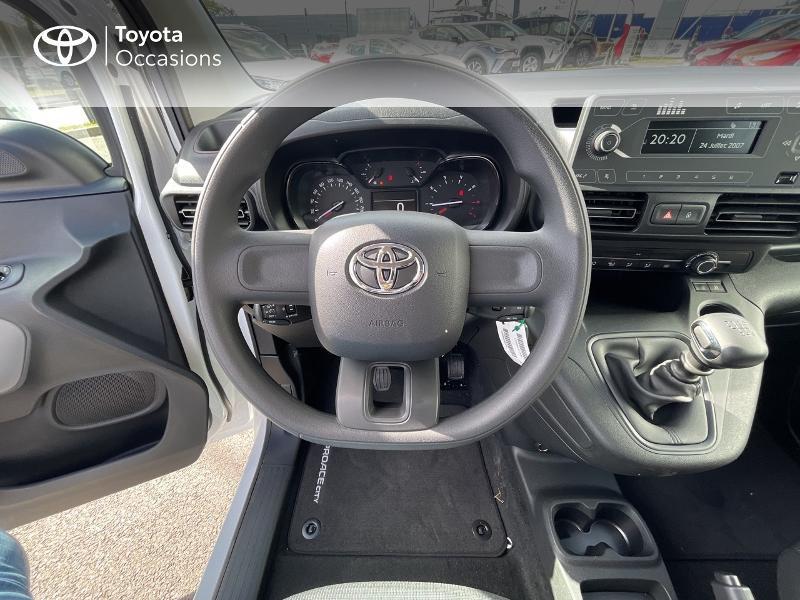 Photo 9 de l'offre de TOYOTA PROACE CITY Verso Medium 1.2 110 VVT-i Dynamic RC21 à 22900€ chez Altis - Toyota Vannes