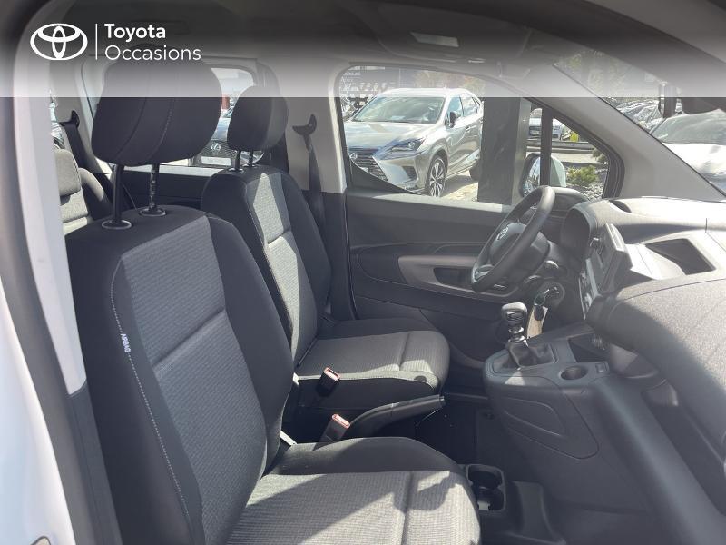 Photo 6 de l'offre de TOYOTA PROACE CITY Verso Medium 1.2 110 VVT-i Dynamic RC21 à 22900€ chez Altis - Toyota Vannes