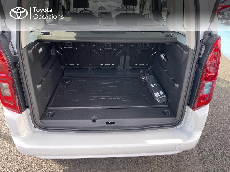 Photo 10 de l'offre de TOYOTA PROACE CITY Verso Medium 1.2 110 VVT-i Dynamic RC21 à 22900€ chez Altis - Toyota Vannes