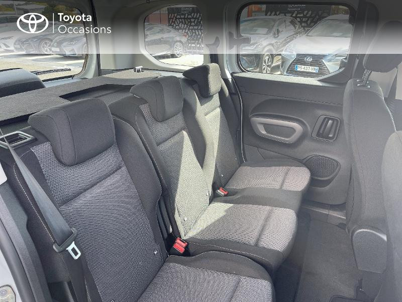 Photo 7 de l'offre de TOYOTA PROACE CITY Verso Medium 1.2 110 VVT-i Dynamic RC21 à 22900€ chez Altis - Toyota Vannes