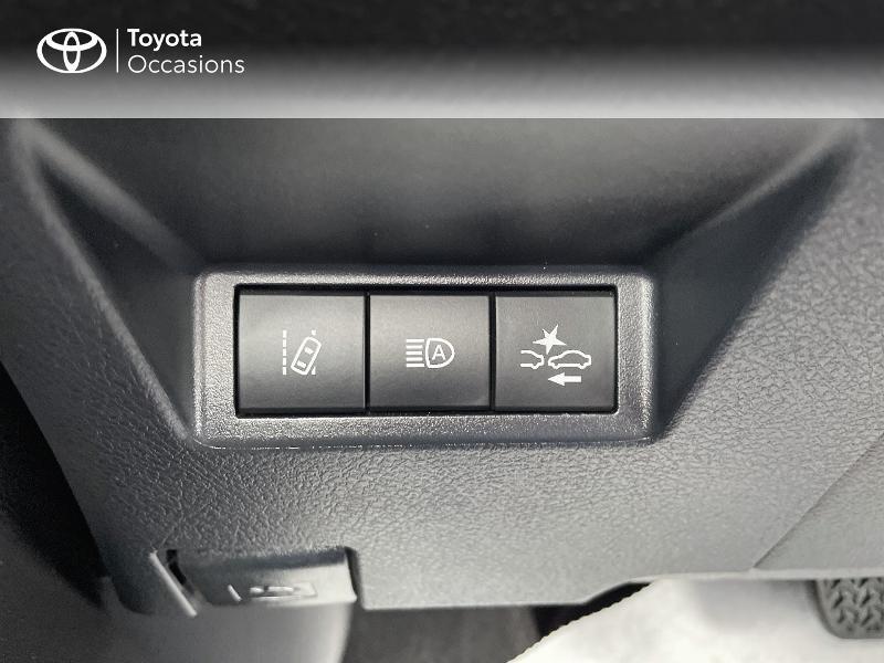 Photo 15 de l'offre de TOYOTA Yaris 100h Dynamic 5p RC18 à 15490€ chez Altis - Toyota Vannes