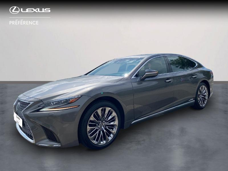 Lexus LS 500h 359ch Luxe 4WD Hybride gris manganèse Occasion à vendre