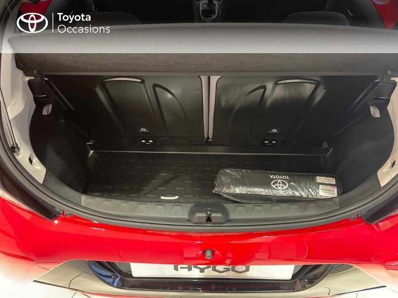 Photo 10 de l'offre de TOYOTA Aygo 1.0 VVT-i 72ch x-play 5p MY20 à 12290€ chez Altis - Toyota Vannes