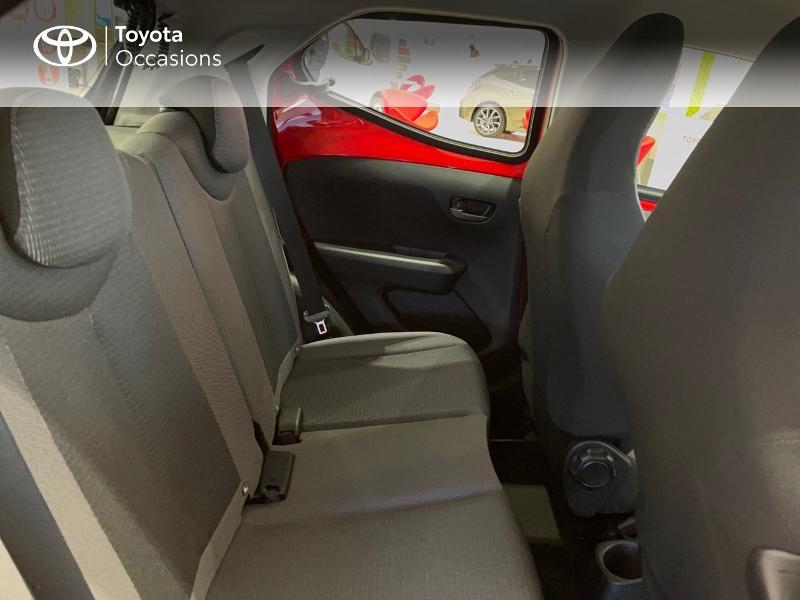 Photo 7 de l'offre de TOYOTA Aygo 1.0 VVT-i 72ch x-play 5p MY20 à 12290€ chez Altis - Toyota Vannes