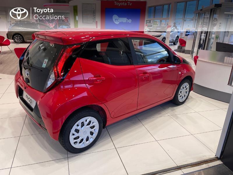 Photo 18 de l'offre de TOYOTA Aygo 1.0 VVT-i 72ch x-play 5p MY20 à 12290€ chez Altis - Toyota Vannes